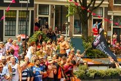 Amsterdam  Gay Pride 2014. Royalty Free Stock Image
