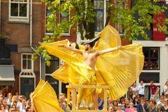 Amsterdam  Gay Pride 2014. Stock Image