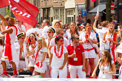 Amsterdam  Gay Pride 2014. Stock Photos
