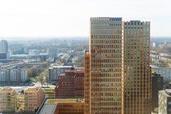 Amsterdam-Geschäftsbereich Stockfoto