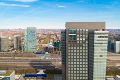 Amsterdam-Geschäftsbereich Lizenzfreie Stockfotografie
