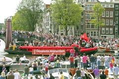 amsterdam glad stolthet 2011 Arkivbild
