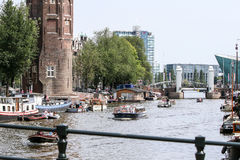 Amsterdam glad stolthet 2015 Arkivfoton