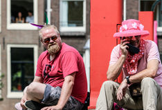 Amsterdam glad stolthet 2015 Arkivfoto