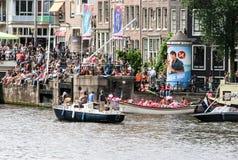 Amsterdam glad stolthet 2015 Royaltyfria Foton