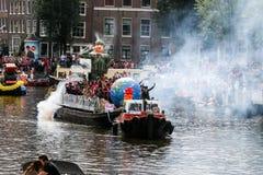Amsterdam glad stolthet 2015 Arkivbild