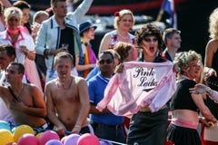 Amsterdam glad stolthet 2015 Arkivbilder