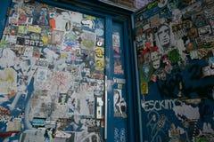 Amsterdam graffitti Royalty Free Stock Image