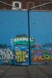 Amsterdam graffitti Stock Photos