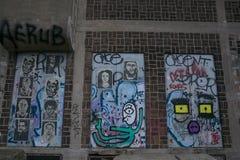 Amsterdam graffitti Royalty Free Stock Photos