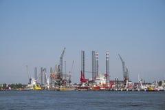 Amsterdam harbor Royalty Free Stock Image