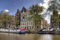 Amsterdam hdr Stock Photography