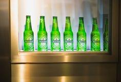 Amsterdam Heineken beer museum Royalty Free Stock Photo