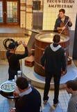 Amsterdam Heineken Museum. Amsterdam Heineken Beer Museum brewery Royalty Free Stock Photography