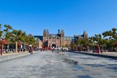 Amsterdam hermosa Rijksmuseum Foto de archivo libre de regalías
