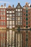 Amsterdam historic houses Royalty Free Stock Photo