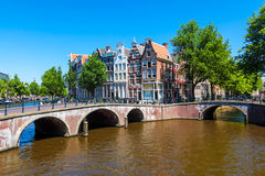 Amsterdam Holandie Obrazy Stock