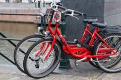 AMSTERDAM, holandie - CZERWIEC 25, 2017: MAC roweru do wynajęcia bicykle w Amsterdam Zdjęcia Stock