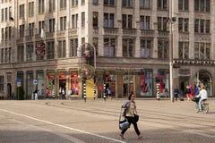 AMSTERDAM, holandie - CZERWIEC 25, 2017: Widok Madame Tussauds Amsterdam wosku muzeum Zdjęcie Stock