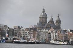 Amsterdam holandie, Grudzień 2013 Fotografia Stock