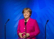 AMSTERDAM, holandie - KWIECIEŃ 25, 2017: Angela Merkel wosku statu Obrazy Royalty Free