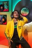 AMSTERDAM, holandie - KWIECIEŃ 25, 2017: Bob Marley wosku statua ja Zdjęcia Stock