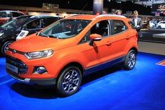 Amsterdam holandie - Kwiecień 23, 2015: Ford Eco sport przy e Obrazy Stock