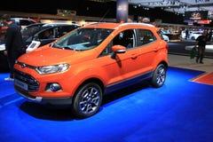 Amsterdam holandie - Kwiecień 23, 2015: Ford Eco sport przy e Zdjęcie Royalty Free
