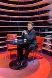 AMSTERDAM, holandie - KWIECIEŃ 25, 2017: George Clooney wosku stat Obrazy Stock