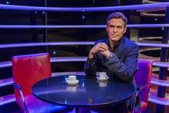 AMSTERDAM, holandie - KWIECIEŃ 25, 2017: George Clooney wosku stat Zdjęcia Stock