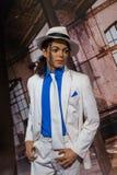 AMSTERDAM, holandie - KWIECIEŃ 25, 2017: Michael Jackson wosku sta Fotografia Stock