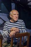 AMSTERDAM, holandie - KWIECIEŃ 25, 2017: Pablo Picasso wosku statu Zdjęcie Royalty Free