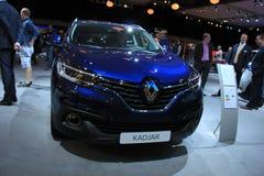 Amsterdam holandie - Kwiecień 23, 2015: Renault Kadjar Intr Zdjęcie Stock