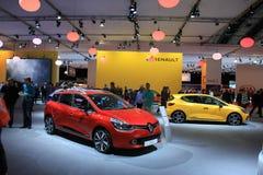 Amsterdam holandie - Kwiecień 23, 2015: Renault stojak przy ex Obraz Stock