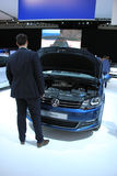 Amsterdam holandie - Kwiecień 23, 2015: Volkswagen Sharan a Zdjęcia Royalty Free