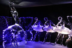Amsterdam, holandie, Luty 4, 2017 - Amsterdam lodu festiwal Obrazy Stock