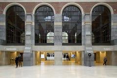 AMSTERDAM, holandie - LUTY 08: Goście przy Rijksmuseum Obraz Stock