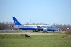 Amsterdam holandie - Marzec 25th, 2017: B-2761 Xiamen Airlines Boeing 787-8 Dreamliner Fotografia Royalty Free