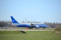 Amsterdam holandie - Marzec 25th, 2017: B-2761 Xiamen Airlines Boeing 787-8 Dreamliner Zdjęcia Stock