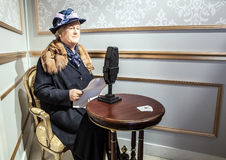 AMSTERDAM, holandie - STYCZEŃ 21: Nawoskuje sławnych persons Madame Tussaud muzeum na STYCZNIU 21, 2015 w Amsterdam, holandie Ja Fotografia Stock