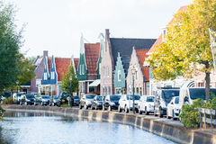 AMSTERDAM, holandie - Wrzesień 22, 2014: piękny widok na s Fotografia Royalty Free