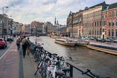 Amsterdam - Holland Stockbild