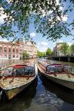 Amsterdam, Holland Stockbilder