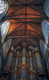 Amsterdam/Holland - 9/12/14 Amsterdam kyrkliga tak Royaltyfria Bilder