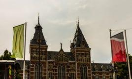 Amsterdam, Holland - 2019 Rijksmuseum is een nationaal museum van Nederland gewijd aan kunsten en geschiedenis in Amsterdam stock afbeeldingen