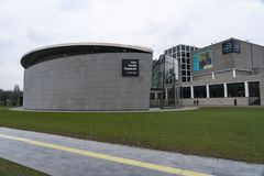 Amsterdam Van Gogh Museum. Amsterdam Holland The Van Gogh Museum is a state museum Rijksmuseum located in Amsterdam, in the Netherlands which has the largest royalty free stock photos