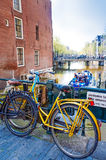 Amsterdam, Hollandes Photos stock