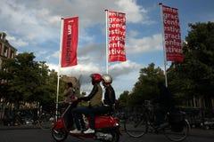 Amsterdam, Hollandes Photos libres de droits