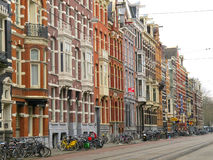 Amsterdam homes and shops 0988 Royalty Free Stock Photos