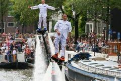 Amsterdam Homoseksualna duma 2015 Obraz Stock